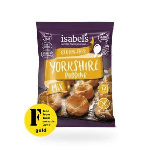 gluten free Yorkshire pudding mix