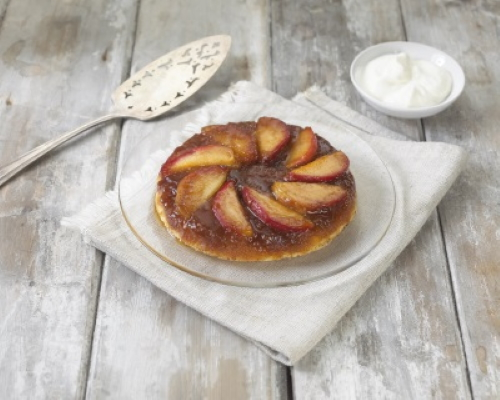 No oven apple tart