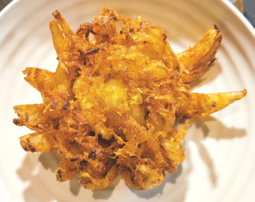 gluten free onion bhajis
