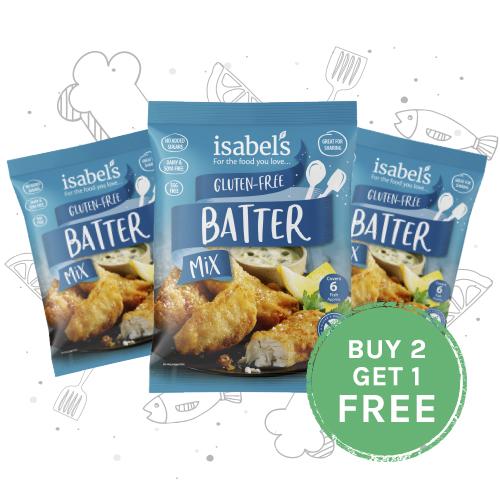 Gluten free batter mix