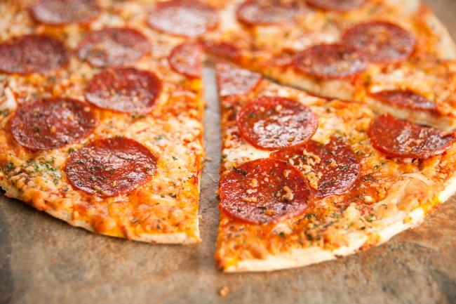 gluten free think crust pizza