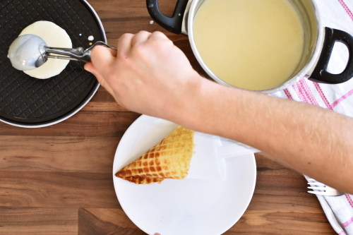 how to make gluten free wafer cones