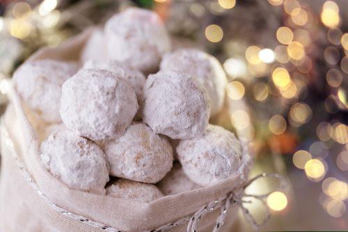 Greek Cookies - Kourabiede