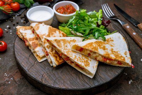 Cheesy Gluten Free Quesadillas
