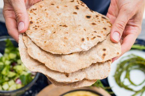 Gluten Free, Vegan Cassava Flatbread